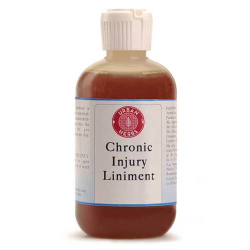 Urban Herbs Chronic Injury Liniment (4 oz.) by Urban Herbs