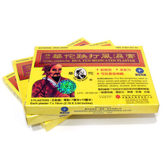 Picture of Hua Tuo Medicated Plasters 5 Pack