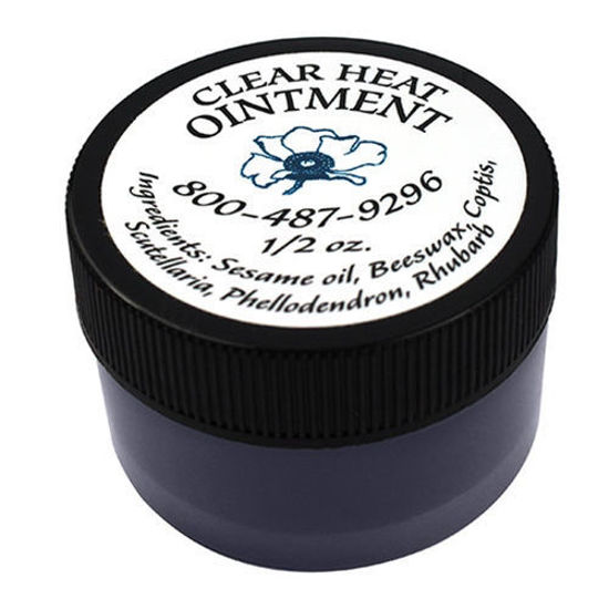 Picture of Clear Heat Ointment 1/2 oz, Blue Poppy