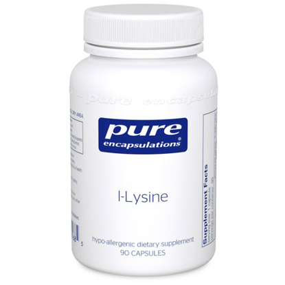Picture of L Lysine 90's, Pure Encapsulations