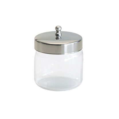 "Picture of Glass Applicator Jar 3"" x 3"""