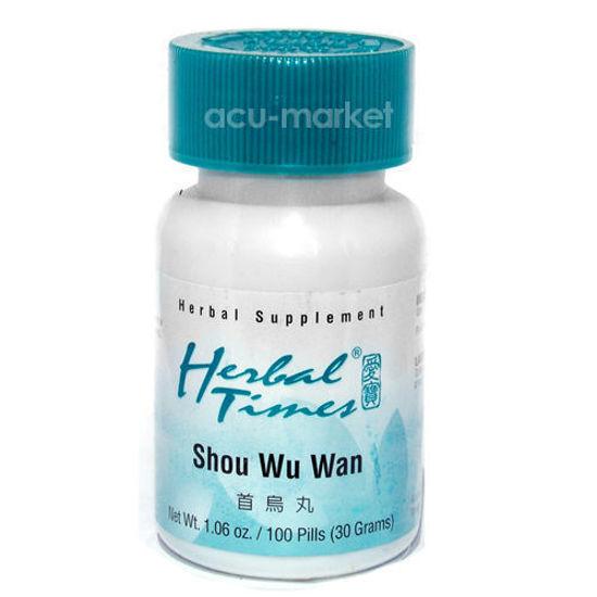 Picture of Shou Wu Wan, Herbal Times®