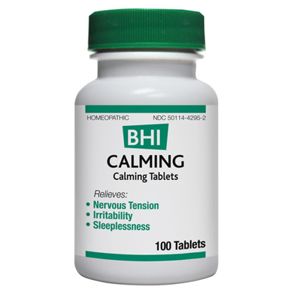 Picture of Calming tabs by BHI 100's