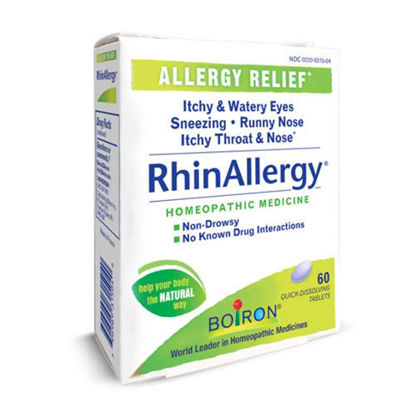Picture of RhinAllergy Tablets Boiron 60's