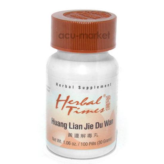 Picture of Huang Lian Jie Du Wan, Herbal Times®