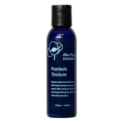 Picture of Psoriasis Tincture 4 oz, Blue Poppy