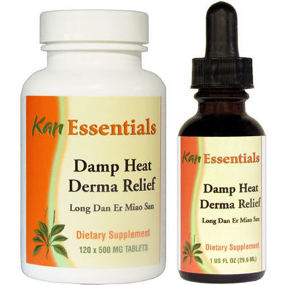 Picture of Damp Heat Derma Relief by Kan