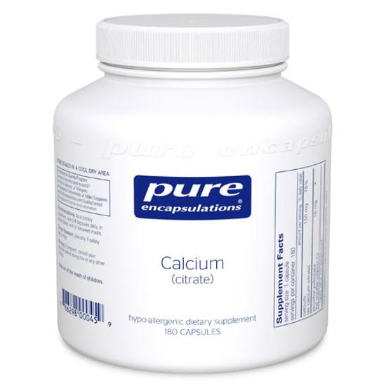 Picture of Calcium (citrate) 180's, Pure Encapsulations