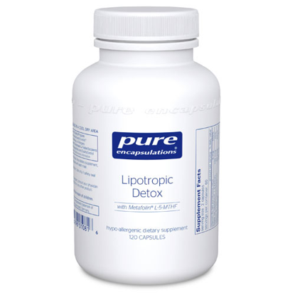 Picture of Lipotropic Detox 120's, Pure Encapsulations