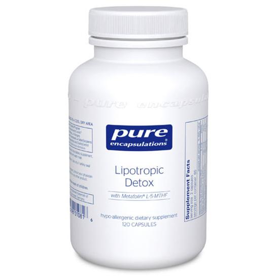 Picture of Lipotropic Detox 120's, Pure Encapsulations