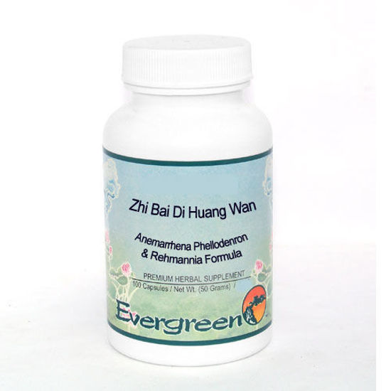 Picture of Zhi Bai Di Huang Wan Evergreen Capsules 100's