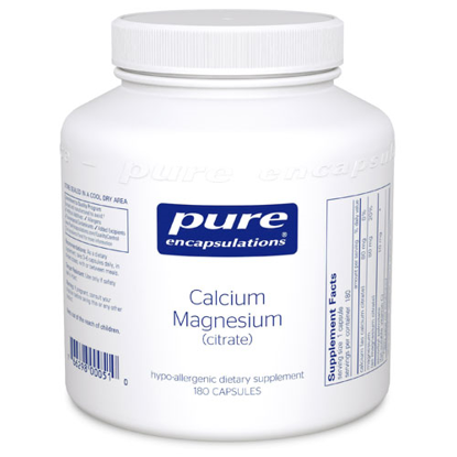 Picture of Calcium/Magnesium (citrate) 180's, Pure Encapsulations