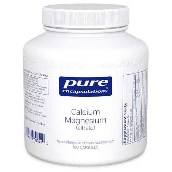 Picture of Calcium/Magnesium (citrate) 180's, Pure Encapsulations