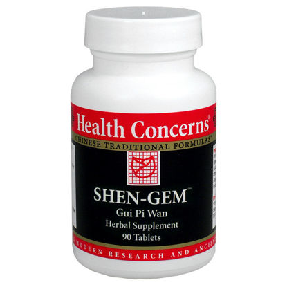Picture of Shen Gem - Modified Gui Pi Tang, Health Concerns
