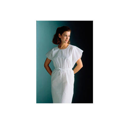 Picture of Exam Gowns 3 Ply White Paper 50's