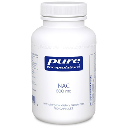 Picture of NAC (n-acetyl l cysteine) by Pure Encapsulations