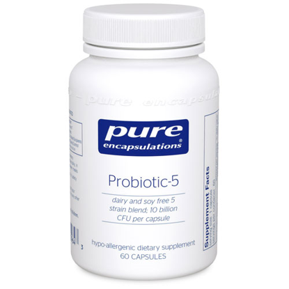 Picture of Probiotic 5 (dairy free) 60's, Pure Encapsulations