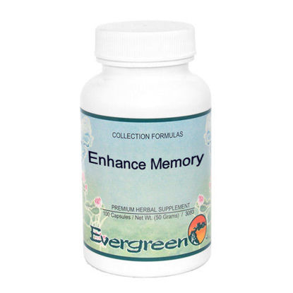 Picture of Enhance Memory - Evergreen Caps 100ct