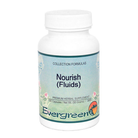 Picture of Nourish (Fluids) - Evergreen Caps 100ct
