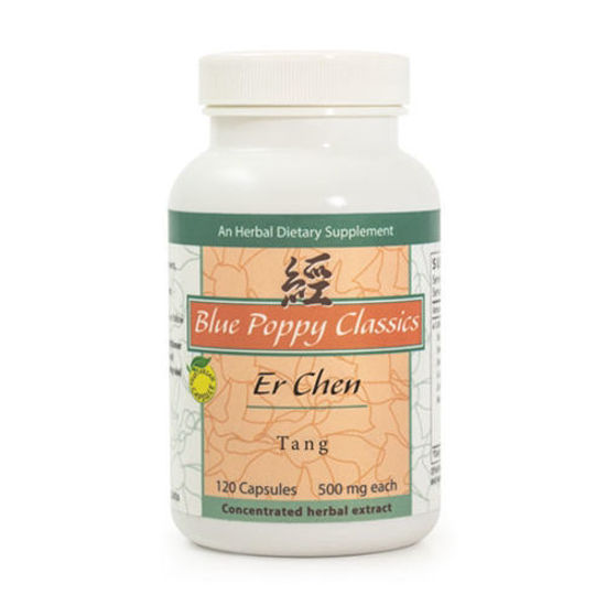 Picture of Er Chen Tang Caps 120's, Blue Poppy
