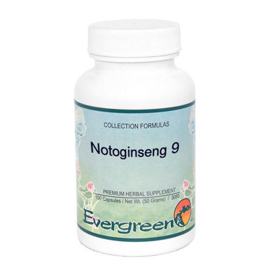 Picture of Notoginseng 9 - Evergreen Caps 100ct