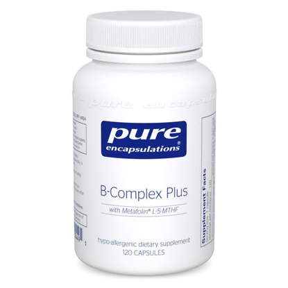 Picture of B Complex Plus 120's, Pure Encapsulations