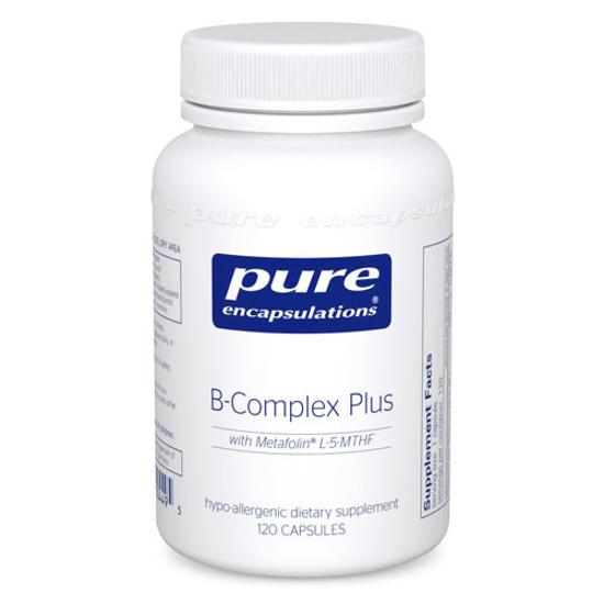 Picture of B Complex Plus 120's, Pure Encapsulations
