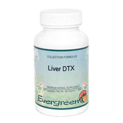 Picture of Liver DTX - Evergreen Caps 100ct