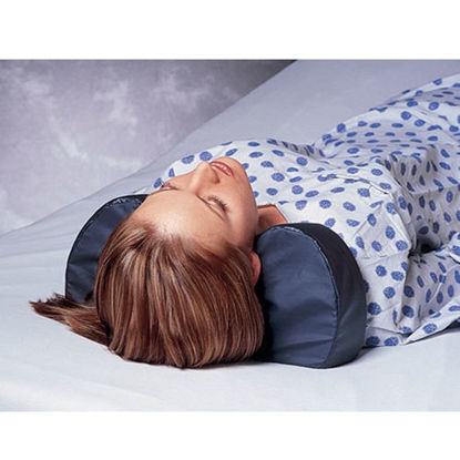 Picture of Pillow with Neck Support Cradle (Blue)