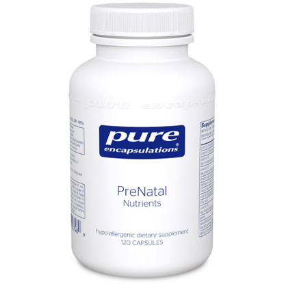 Picture of PreNatal Nutrients 120's, Pure Encapsulations