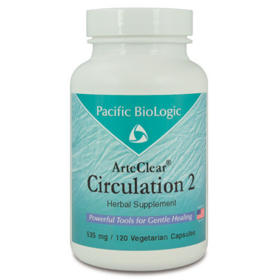Picture of Arte Clear Circulation 2 Pacific BioLogic capsules 120's