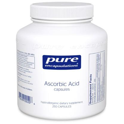 Picture of Pure Ascorbic Acid 250's, Pure Encapsulations