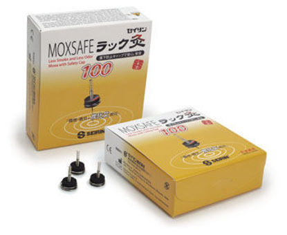 Picture of Moxsafe Smokeless Needle Moxa by Seirin