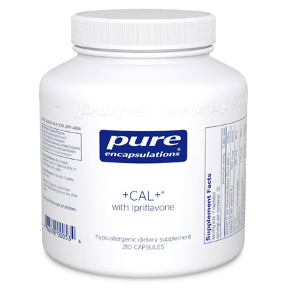 Picture of CAL + with Ipriflavone 210's, Pure Encapsulations