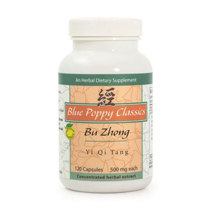 Picture of Bu Zhong Yi Qi Tang Caps 120's, Blue Poppy