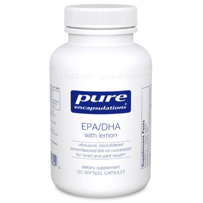 Picture of EPA/DHA with lemon 120's, Pure Encapsulations
