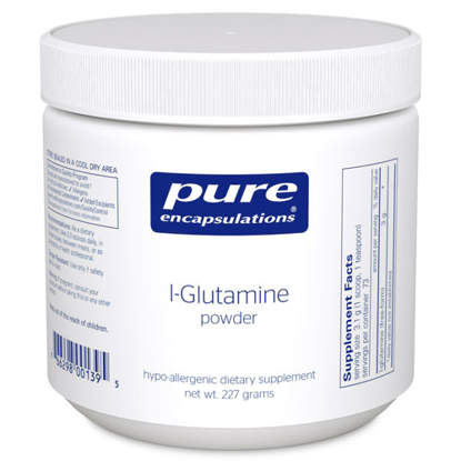 Picture of L Glutamine Powder, Pure Encapsulations 227g