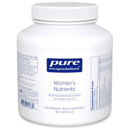 Picture of Women's Nutrients 180ct, Pure Encapsulations