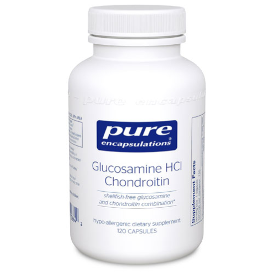 Picture of Glucosamine HCI + Chondroitin 120's, Pure Encapsulations