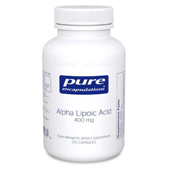 Picture of Alpha Lipoic Acid 120's, Pure Encapsulations