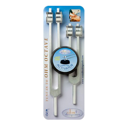 Picture of Ohm Octave Tuning Fork Set by Sound Universe