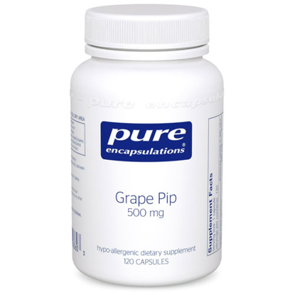 Picture of Grape Pip 500 mg. 120's, Pure Encapsulations
