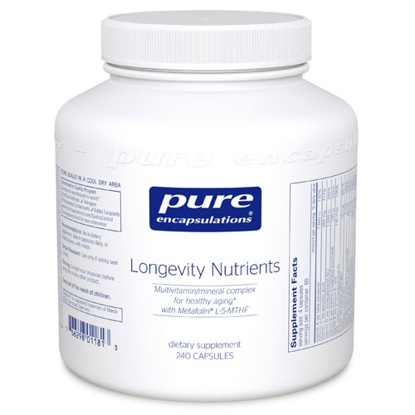 Picture of Longevity Nutrients 240's, Pure Encapsulations