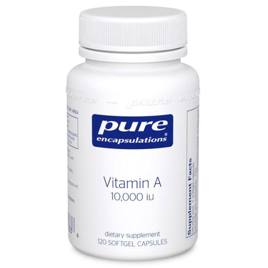 Picture of Vitamin A 10,000 iu 120 ct., Pure Encapsulations