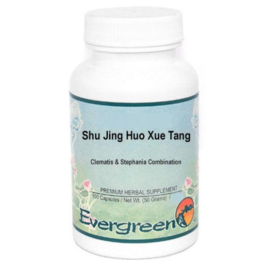 Picture of Shu Jing Huo Xue Tang Evergreen Capsules 100's