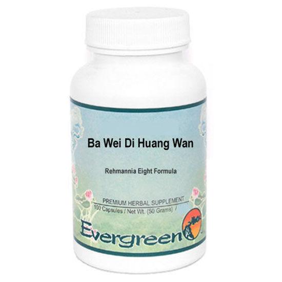Picture of Ba Wei Di Huang Wan Evergreen Capsules 100's