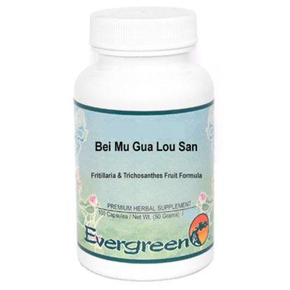 Picture of Bei Mu Gua Lou San Evergreen Capsules 100's