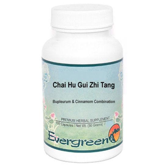 Picture of Chai Hu Gui Zhi Tang Evergreen Capsules 100's