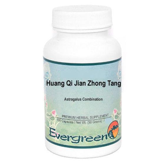 Picture of Huang Qi Jian Zhong Tang Evergreen Capsules 100's