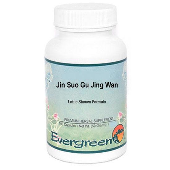 Picture of Jin Suo Gu Jing Wan Evergreen Capsules 100's
